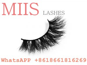 Factory supplies various 3d real mink false eye lashes